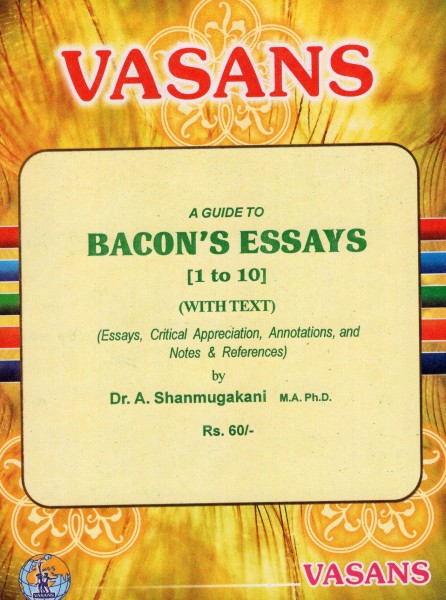 bacon essay of truth